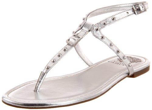 Vince Camuto Women's Vc-Mollan Sandal,Silver,8 M US