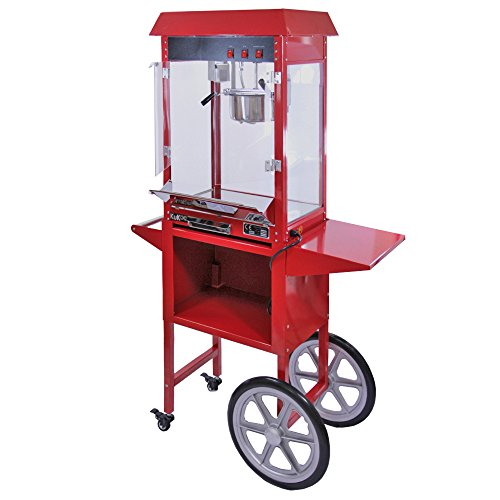 popcorn-maker-machine-8-ounce-large-kukoo-pop-corn-machine-with-matching-cart