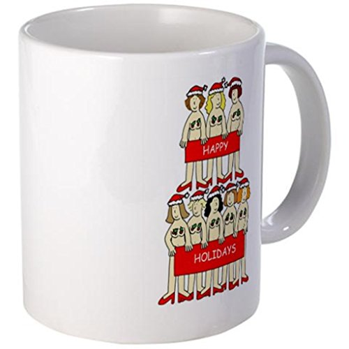 naked-christmas-women-wearing-holly-mugs-ceramic-11-oz-coffee-cups