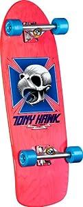 Buy Powell-Peralta Bones Brigade Tony Hawk Skull Assembly Skateboard, Pink by Powell-Peralta