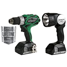 Hitachi DS18DSAL 18-Volt 1/2-Inch Drill/Driver