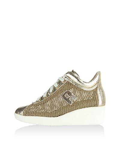 RUCO LINE Zapatillas de cuña 200 Glitter Lamé