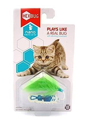 Nano Robotic Cat Toy (White/Blue)