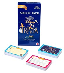 Wonderful World of Disney Trivia Game Add-On Pack; 800 New Questions