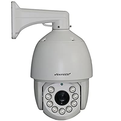 VENTECH PROFESSIONAL PTZ camera AHD Security camera 27X Zoom 1MP 720p 9 Array Leds Night Vision RS-485 6inch pan tilt camera Surveillance pan tilt zoom camera
