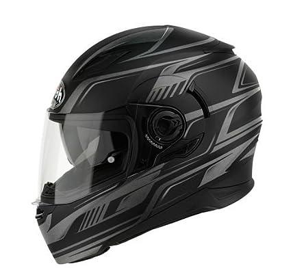 Airoh casque de moto mVFR11 mouvement (noir)