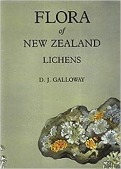 Flora of New Zealand: Lichens