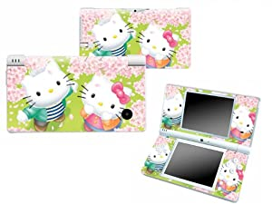 Bundle Monster Nintendo Ndsi Dsi Nds Ds i Vinyl Game Skin Case Art Decal Cover Sticker Protector Accessories - Kitty