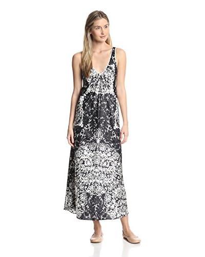 Oscar de la Renta Women's Printed Gown