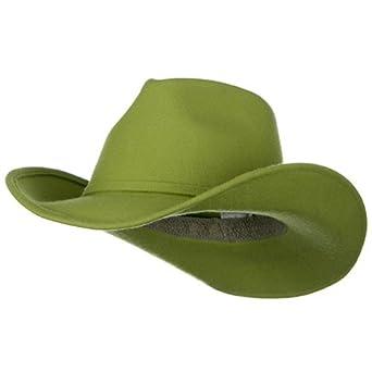 s felt cowboy hat lime at s clothing