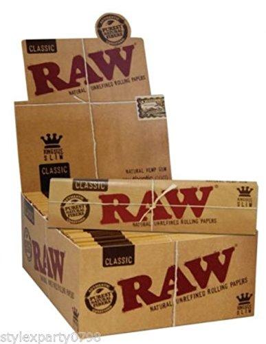 caja-de-papel-de-fumar-con-50-cajitas-raw-natural-sin-refinar