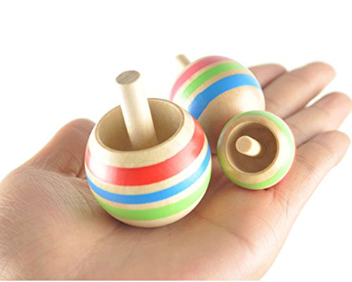 BreaDeep-3pcs-Colorful-Wooden-Spinning-Top-Peg-top-Children-Kids-Educational-Funny-Toys-3-Sizes