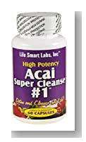 ACAI SUPER CLEANSE #1 TM HIGHLY POTENT 60 capsules ANTIOXIDANT, Detox, Colon Cleanse, Weight Loss