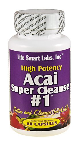 ACAI SUPER CLEANSE #1 TM HIGHLY POTENT 60 capsules ANTIOXIDANT, Detox, Colon Cleanse, Weight Loss : The Perfect Proportion of Ingredients