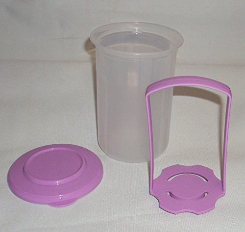 Tupperware SMALL 2 Cup Pick a Deli Round Pickle Keeper, Lavender Purple (2 Cup Deli compare prices)