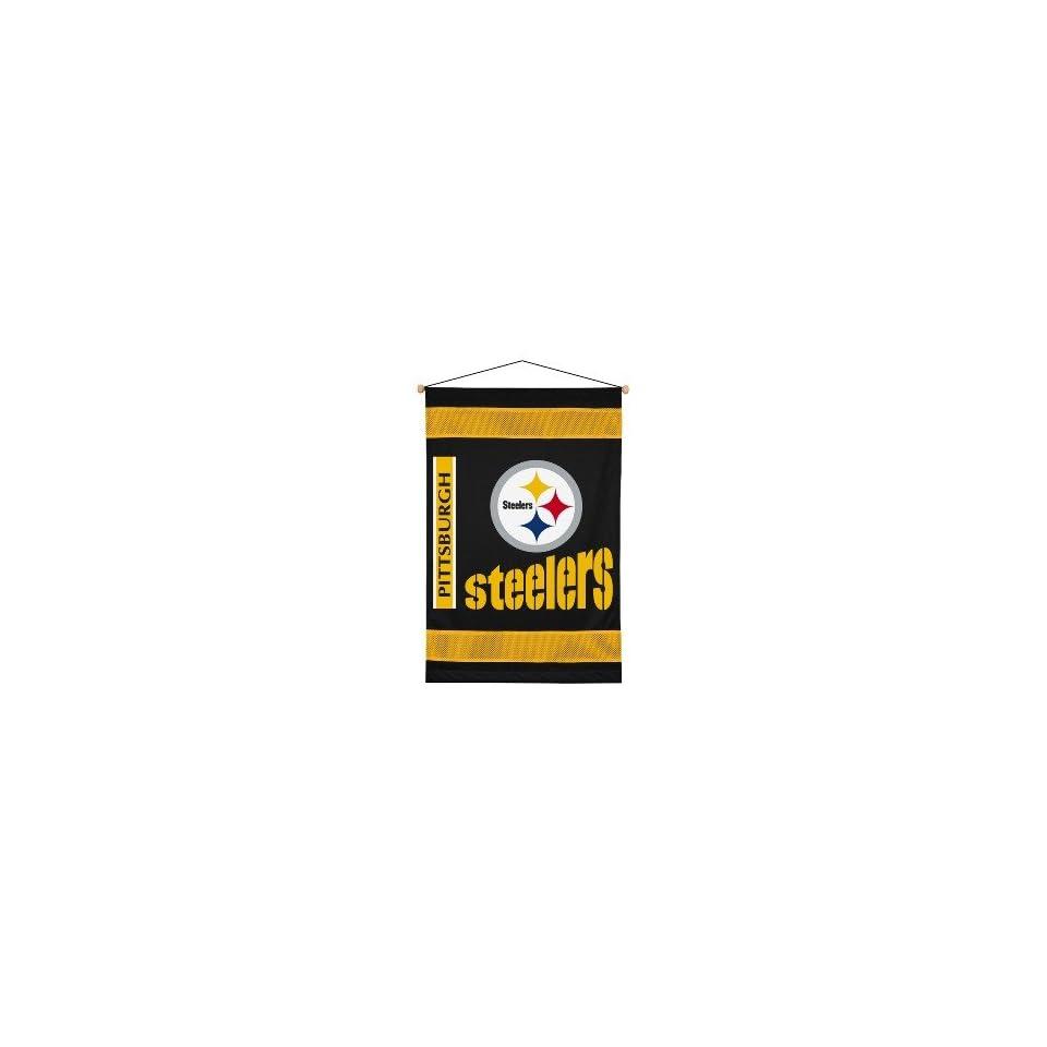 NFL Pittsburgh Steelers Sidelines Team Logo Wallhanging