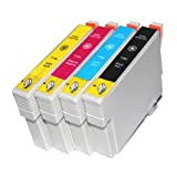 1 Full Sst T1295 inks Compatible Ink Cartridges for Epson B42WD - ALSO COMPATIBLE WITH Epson Stylus SX235W SX420W SX425W SX435W SX445W SX525WD SX535WD SX620FW Epson Stylus Office B42WD BX305F BX305FW BX305FW Plus BX320FW BX525WD BX535WD BX625FWD BX630FW