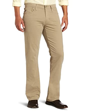AG Adriano Goldschmied Men's The Protégé Straight Leg 'SUD' Pant, Cornsilk , 29x34