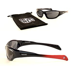 NFL Team YOUTH Size Quake Style Sport Sunglasses With Protective Cloth Lens Cleaning... by NFL