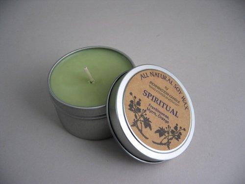 All Natural Soy Wax by Bennington Candle (Spiritual) - Frankincense, Myrrh;l