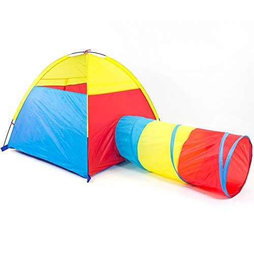 Dome and Tunnel Play Tent