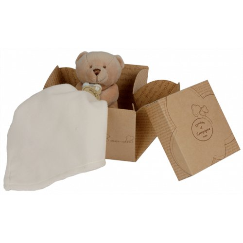 Doudou et Compagnie 10 cm Natural Bear and Towelling