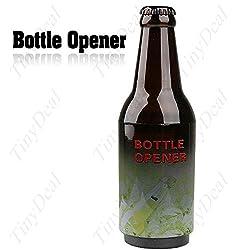 Unique Beer Bottle Design Automatic Press Style Beer Soda Bottle Opener Popper with Magnet HHI-15603
