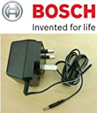 Bosch Original Replacement Charger c/w UK 3-Pin End (To Fit the:- Bosch ISIO, PTK 3.6V-Li Tacker & PSR Select) (Bosch Pt No 2609003264 & 2609003265) c/w Free Cadbury Chocolate Bar