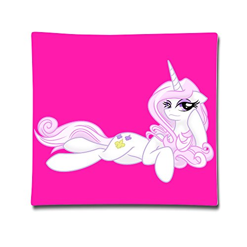[Satain My Little Fleur Pony 100% Cotton Funny Decorative Cushion Cover Pillow Covers Case 1818] (C Viper Costumes)