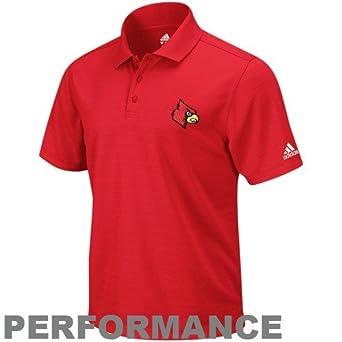 adidas Louisville Cardinals Clima Polo by adidas