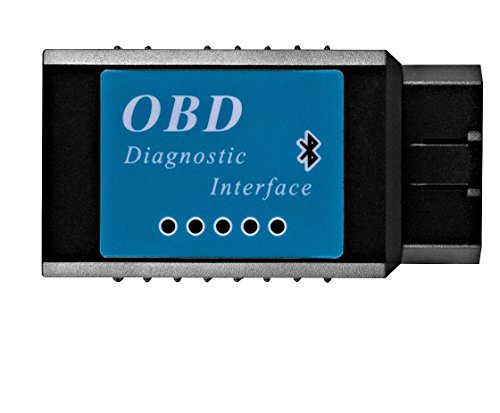 Goliath Industry OBDII OBD2 Bluetooth Auto Diagnostic Scanner Tool - Engine Light Check Wireless Data Feed To Your Cell Phone - Compatible With Android & Windows Devices (Auto Wireless Bluetooth compare prices)
