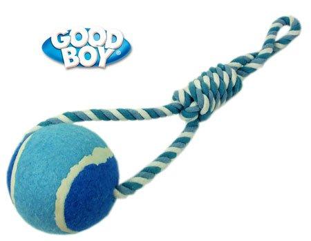 Artikelbild: good boy Seil & Ball Hundespielzeug groß blau Pets Hundespielzeug Allgemeine 5000239089628