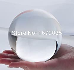 1PC 70mm Transparent FengShui Crystal Balls Natural Quartz Crystal Ball Sphere Glass Balls Fengshui Ball