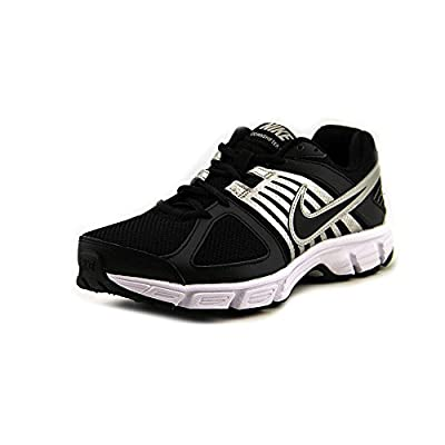 Nike Men's NIKE DOWNSHIFTER 5 RUNNING SHOES 10 (BLACK/BLACK/WHITE/MTLLC SILVER)