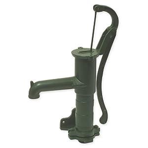 Bevo 0940108 Pompa manuale con flangia laterale 44x67 cm, in ferro, colore: Verde laccato