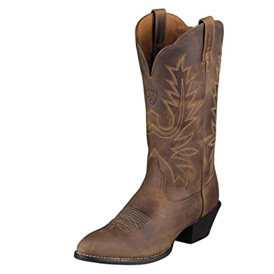 Ariat Ladies Heritage Western R Toe Boot by Ariat