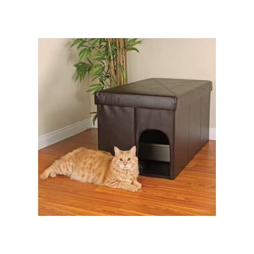 Cat Litter Boxes from siti-immobilier.tk It's the most dreaded part of a cat owner's day. Sure, your little whiskered friend looks cute, but when you get near the litter box, you know living with a cat .