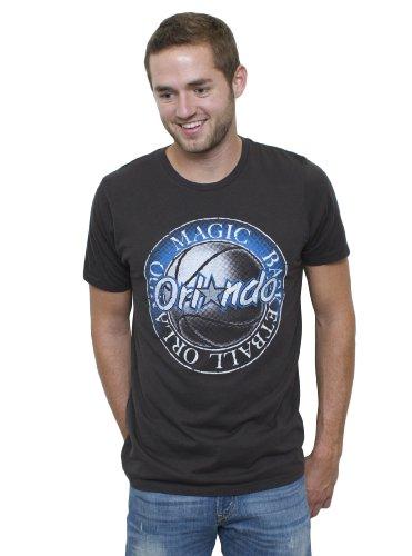 NBA Orlando Magic Men's Vintage Solid Short Sleeve Crew T-Shirt, Black Wash, XX-Large (Vintage Nba Shirts compare prices)