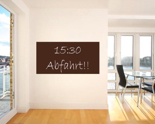 bilderdepot24 tafelfolie kreidetafel wandtafel braun inkl. Black Bedroom Furniture Sets. Home Design Ideas