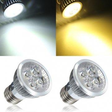 Illumi Projections Warm White Led 4W Par16 E26 Accent Lamp Bulb Spot Lamp Ac Dc 12 Volt Mr16 Halogen Replacement 4X 1.25 Watt Cluster