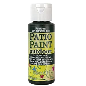 DecoArt Patio Paint, 2-Ounce, Citrus Green