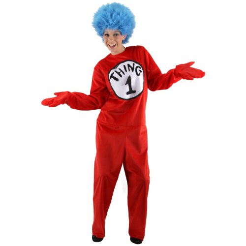 Elope - Dr. Seuss The Cat in the Hat - Thing 1 and Thing 2 Adult Costume