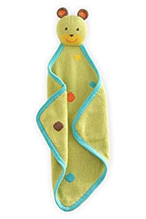 Joobles Fair Trade Organic Baby Blankie - Huggy Bear