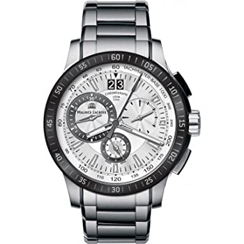 Maurice Lacroix MI1098-SS042-131 Mens Miros Chronograph Sports Watch by Maurice Lacroix