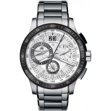 Maurice Lacroix MI1098-SS042-131 Mens Miros Chronograph Sports Watch from watchmaker Maurice Lacroix