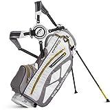 Sun Mountain Golf 2014 Superlight Three5 Stand Bag White/Grey/Yellow