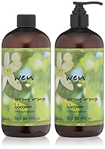 WEN by Chaz Dean Spring Orange Blossom Cleansing Conditioner Duo, each 16 fl. oz. (Pack of 2)