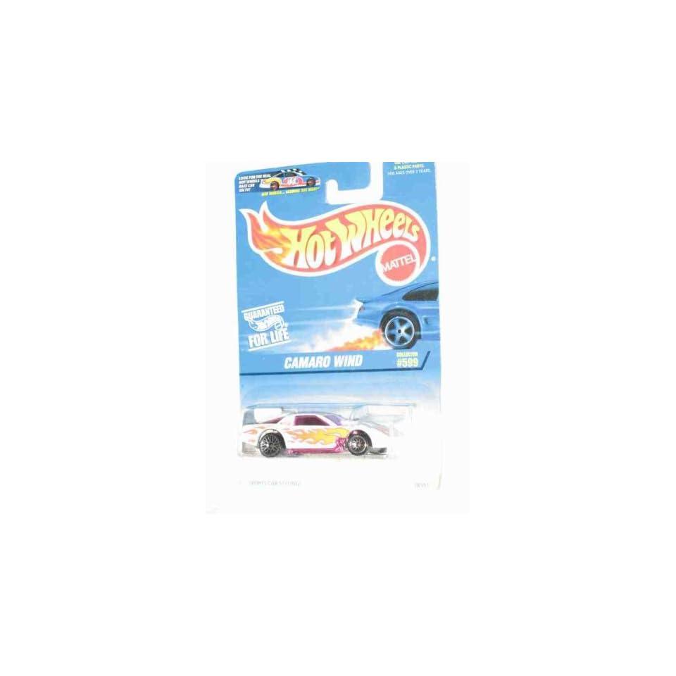 #599 Camaro Wind Dark Tinted Window Collector Mattel Hot Wheels 164 Scale Collectible Die Cast Car