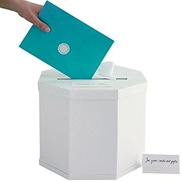Martha Stewart Gift Card Box, White Eyelet
