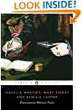 Isabella Whitney, Mary Sidney and Amelia Lanyer: Renaissance Women Poets